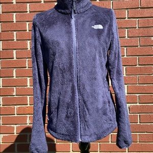 The North Face- Purple Fuzzy fleece- Small